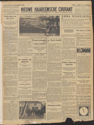 Nieuwe Haarlemsche Courant 1938-02-01
