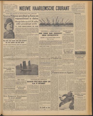 Nieuwe Haarlemsche Courant 1951-06-06