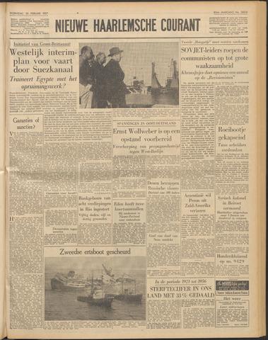 Nieuwe Haarlemsche Courant 1957-02-20