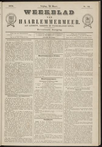 Weekblad van Haarlemmermeer 1876-03-24