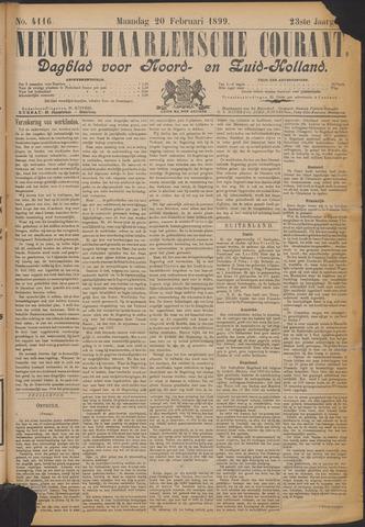 Nieuwe Haarlemsche Courant 1899-02-20