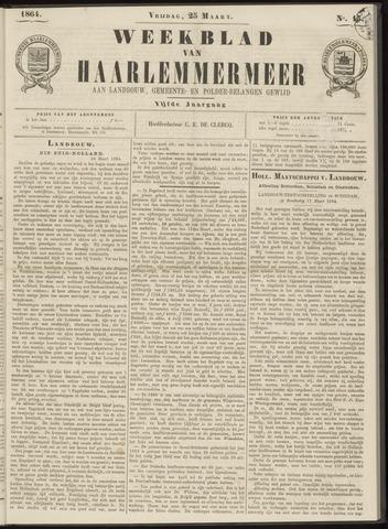 Weekblad van Haarlemmermeer 1864-03-25