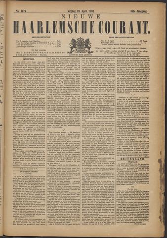 Nieuwe Haarlemsche Courant 1893-04-28