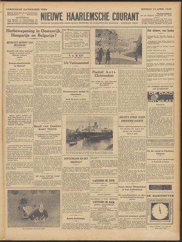 Nieuwe Haarlemsche Courant 1935-04-14