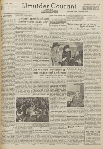 IJmuider Courant 1948-11-18