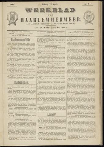 Weekblad van Haarlemmermeer 1880-04-02