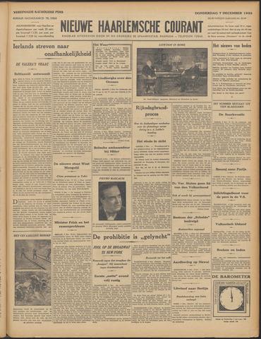 Nieuwe Haarlemsche Courant 1933-12-07