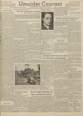 IJmuider Courant 1948-02-07