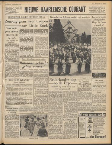 Nieuwe Haarlemsche Courant 1958-08-21