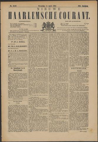 Nieuwe Haarlemsche Courant 1894-04-11