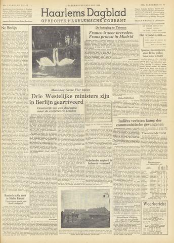 Haarlem's Dagblad 1954-01-23