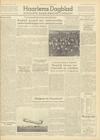 Haarlem's Dagblad 1954-01-05