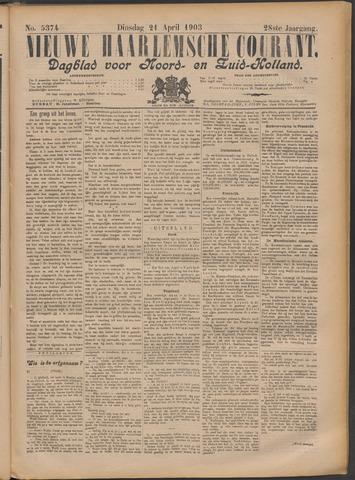 Nieuwe Haarlemsche Courant 1903-04-21