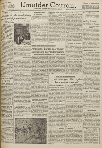IJmuider Courant 1948-08-23