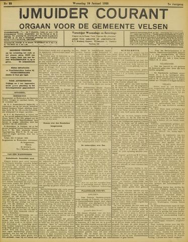 IJmuider Courant 1922-01-18