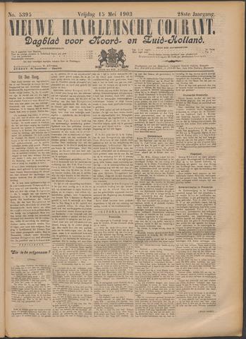 Nieuwe Haarlemsche Courant 1903-05-15