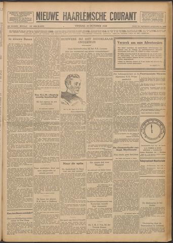 Nieuwe Haarlemsche Courant 1928-10-19