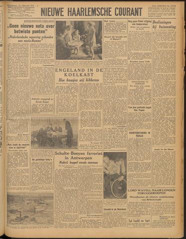 Nieuwe Haarlemsche Courant 1947-02-20