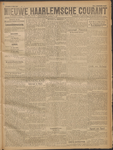 Nieuwe Haarlemsche Courant 1919-08-08