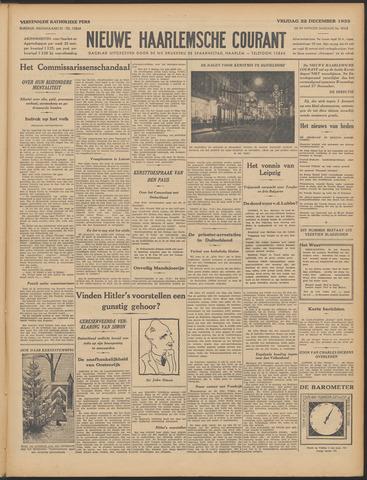 Nieuwe Haarlemsche Courant 1933-12-22