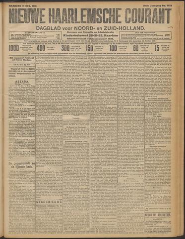Nieuwe Haarlemsche Courant 1910-10-31