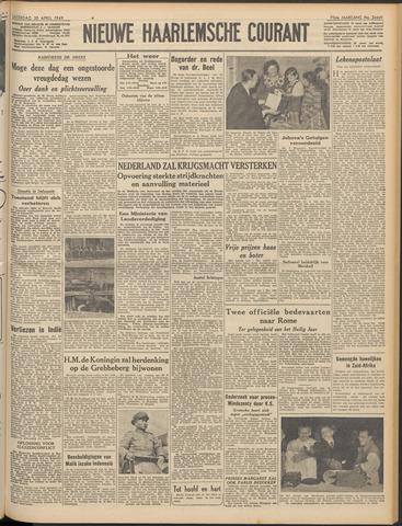 Nieuwe Haarlemsche Courant 1949-04-30