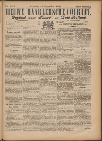 Nieuwe Haarlemsche Courant 1903-11-21