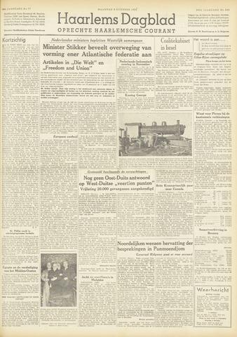 Haarlem's Dagblad 1951-10-08