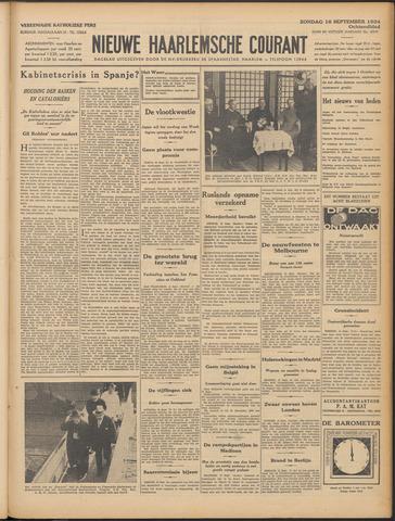 Nieuwe Haarlemsche Courant 1934-09-16