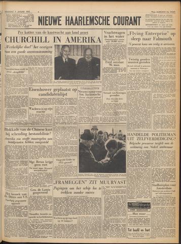 Nieuwe Haarlemsche Courant 1952-01-07