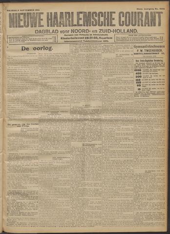 Nieuwe Haarlemsche Courant 1914-09-11