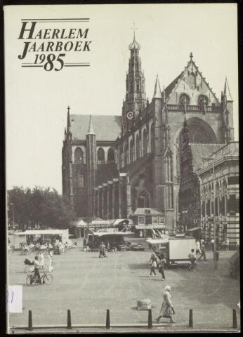 Jaarverslagen en Jaarboeken Vereniging Haerlem 1985