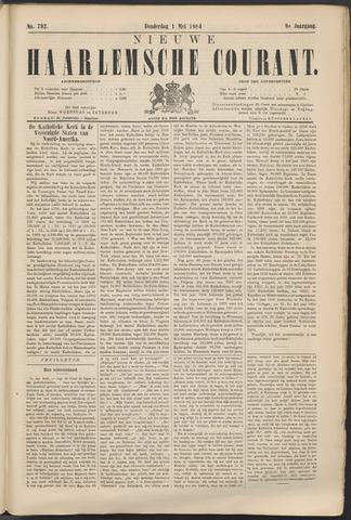 Nieuwe Haarlemsche Courant 1884-05-01