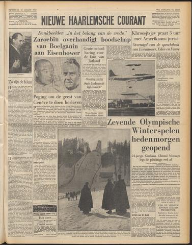 Nieuwe Haarlemsche Courant 1956-01-26