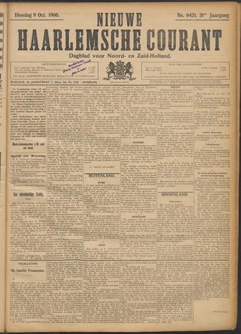 Nieuwe Haarlemsche Courant 1906-10-09