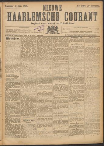 Nieuwe Haarlemsche Courant 1906-12-31