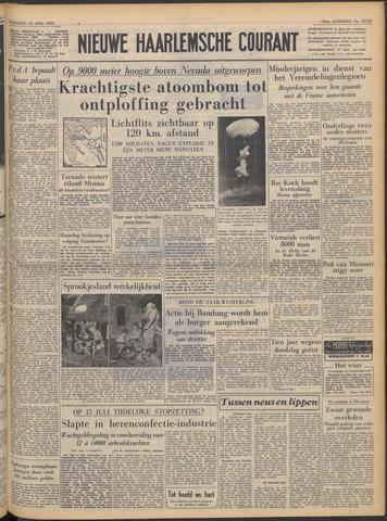 Nieuwe Haarlemsche Courant 1952-04-23