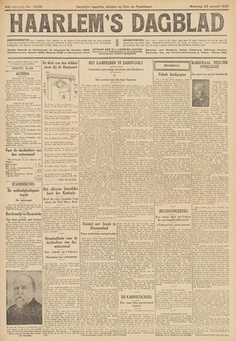 Haarlem's Dagblad 1926-01-25