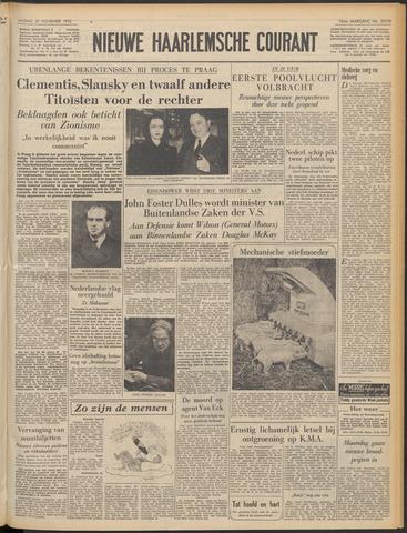 Nieuwe Haarlemsche Courant 1952-11-21