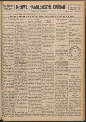 Nieuwe Haarlemsche Courant 1930-10-14