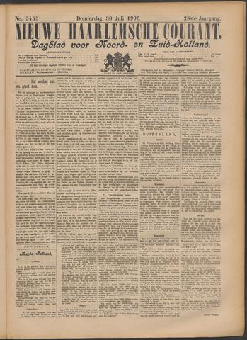 Nieuwe Haarlemsche Courant 1903-07-30