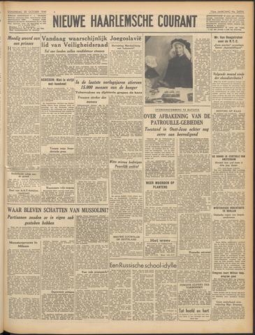 Nieuwe Haarlemsche Courant 1949-10-20