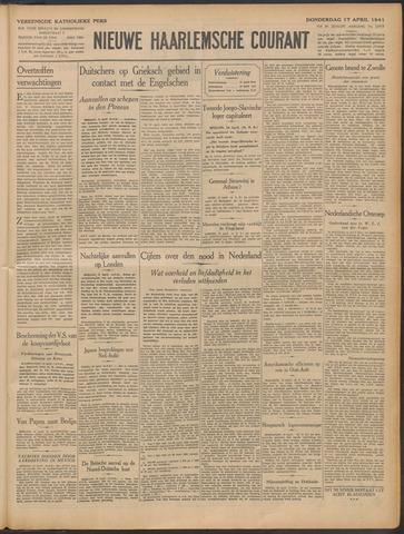 Nieuwe Haarlemsche Courant 1941-04-17