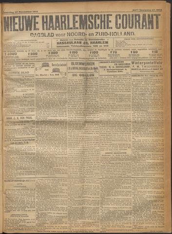 Nieuwe Haarlemsche Courant 1915-11-27