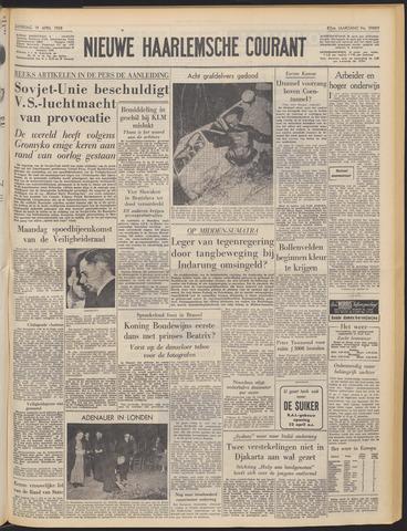 Nieuwe Haarlemsche Courant 1958-04-19