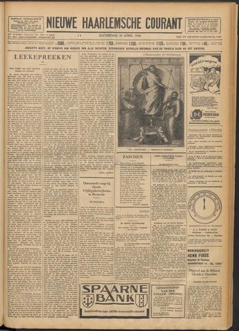 Nieuwe Haarlemsche Courant 1930-04-19
