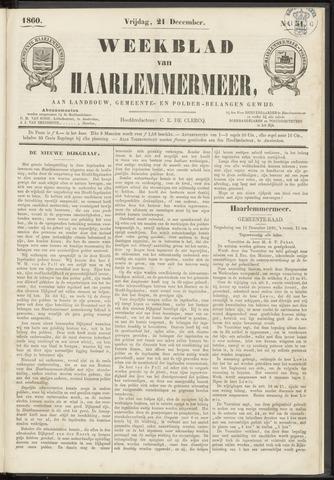 Weekblad van Haarlemmermeer 1860-12-21