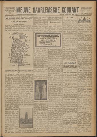 Nieuwe Haarlemsche Courant 1923-09-15