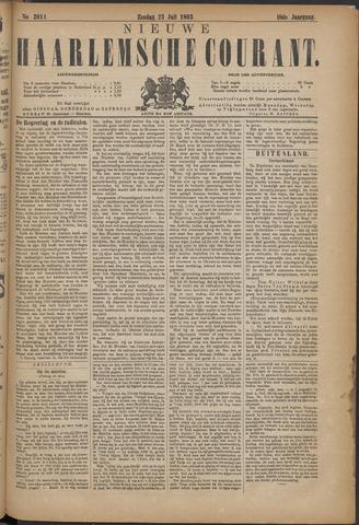 Nieuwe Haarlemsche Courant 1893-07-23