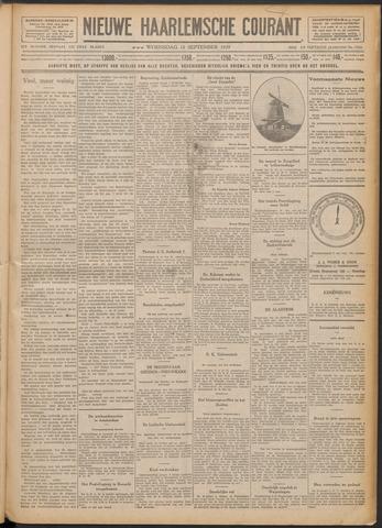 Nieuwe Haarlemsche Courant 1929-09-18